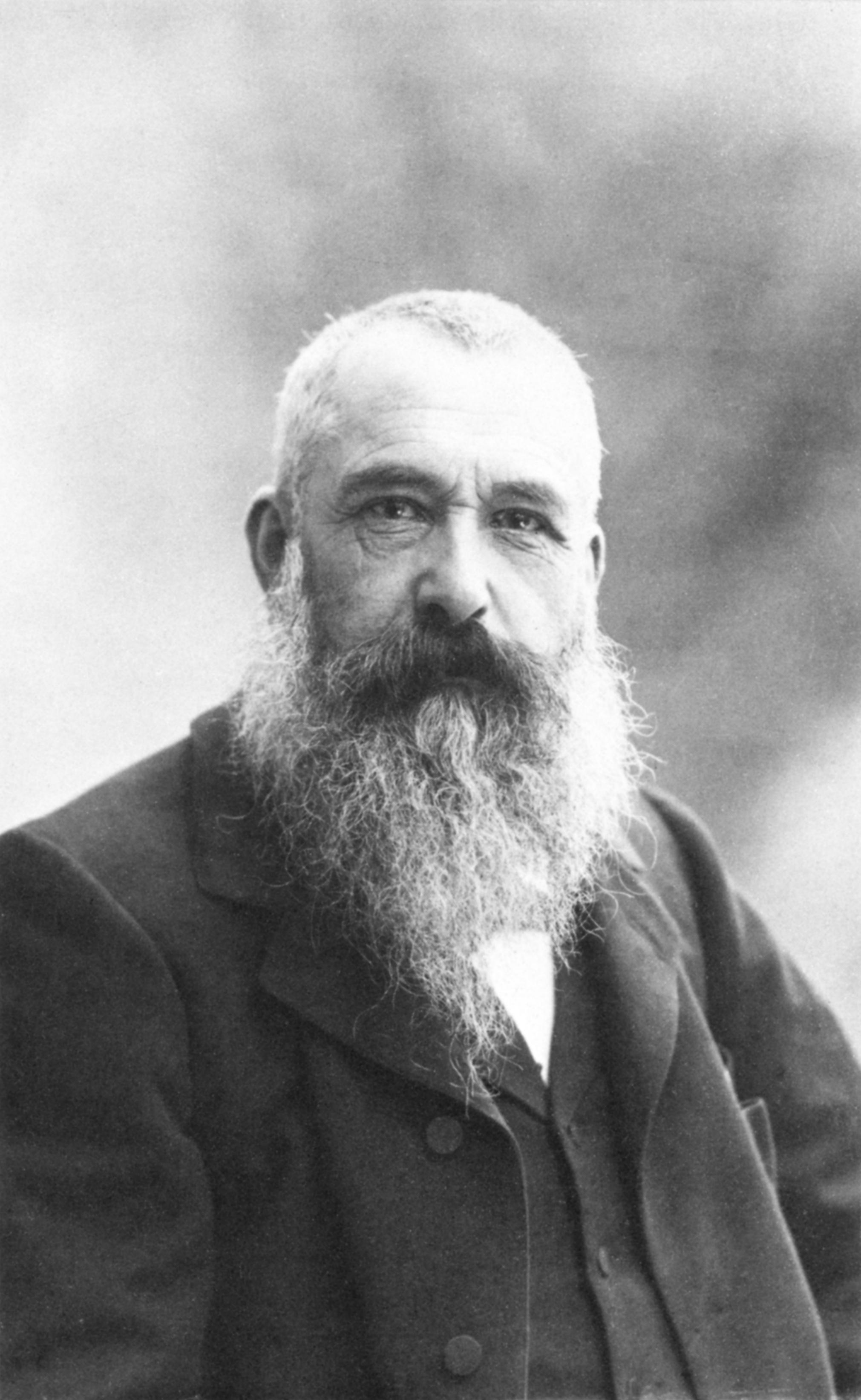 Claude Monet auf einer Aufnahme von Nadar aus dem Jahr 1899 - gemeinfrei
