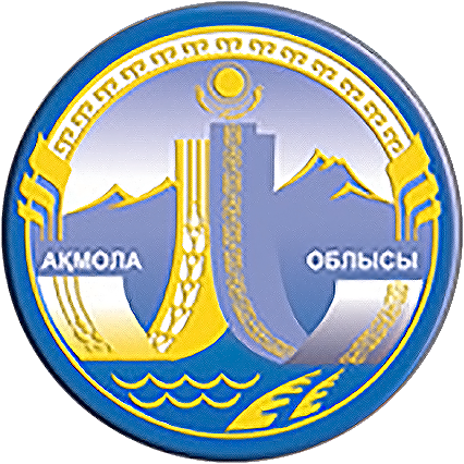 Fitxategi:Coat of Arms of Aqmola Province Kz.png