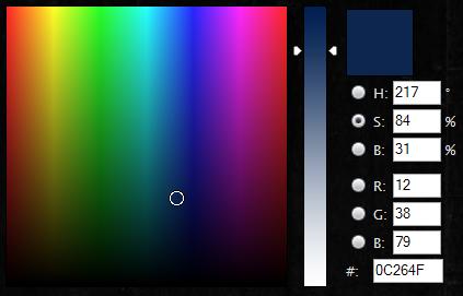"""Un """"color picker"""" pour la ChatBox ColorPicker"""