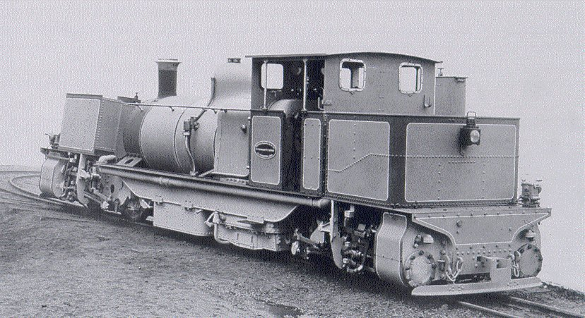 DHR D Class Garratt:  Beyer-Peacock works photo