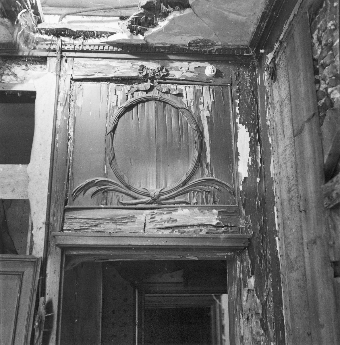 file dessus de porte linker middenvertrek velsen 20240352 wikimedia commons. Black Bedroom Furniture Sets. Home Design Ideas