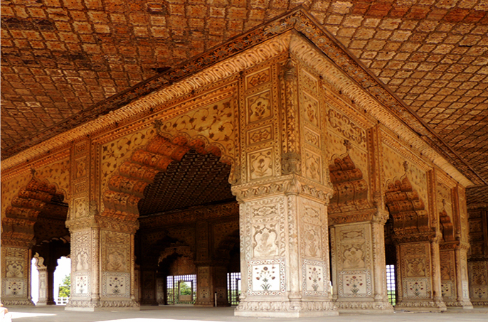 Diwan-i Khas, Red Fort, Delhi 02