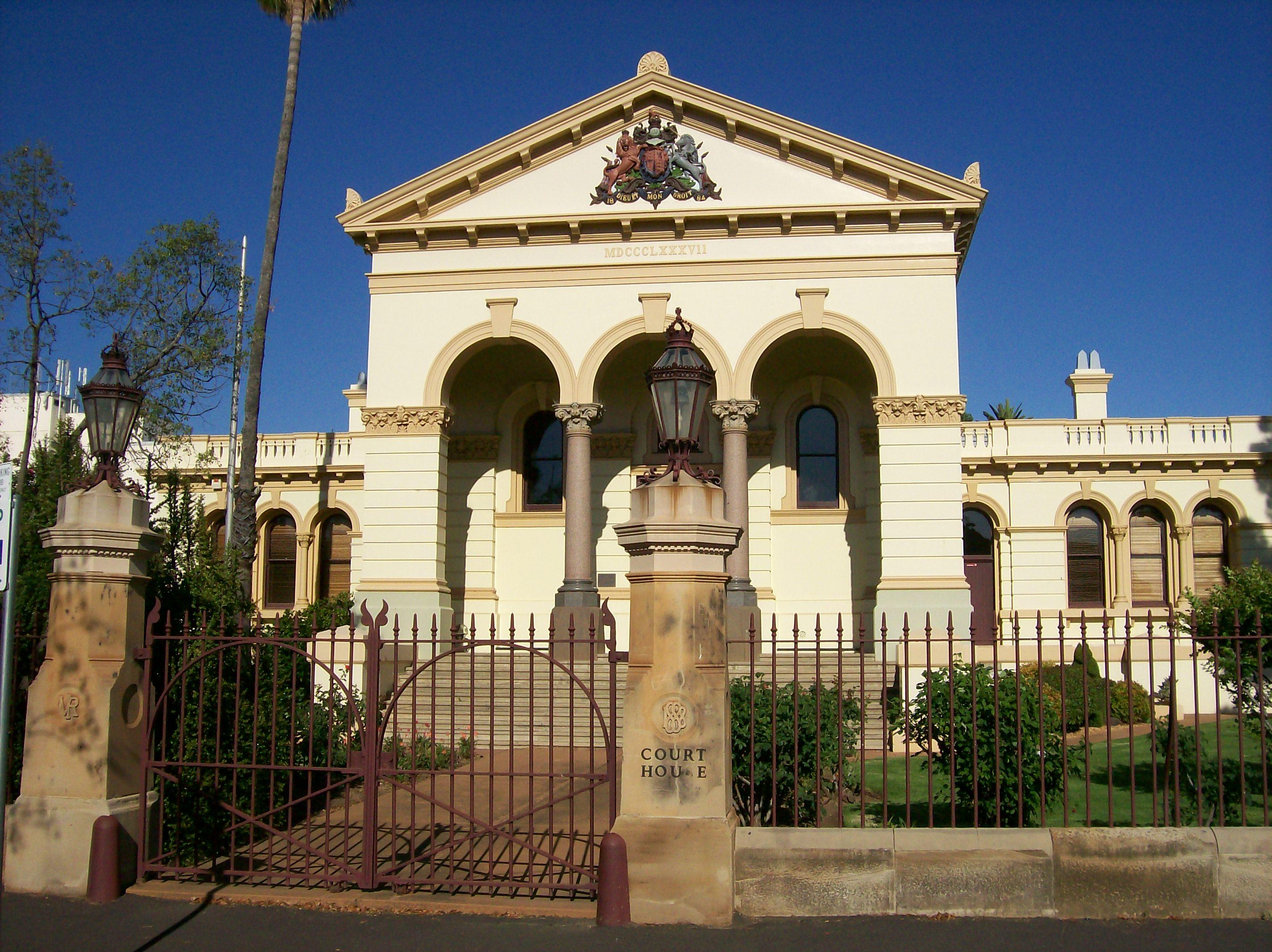 Gilgandra Australia  City pictures : Dubbo Courthouse. Gilgandra, Australia