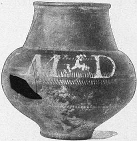 EB1911 Ceramics Fig. 68.—JAR OF RHENISH WARE WITH INSCRIPTION.jpg