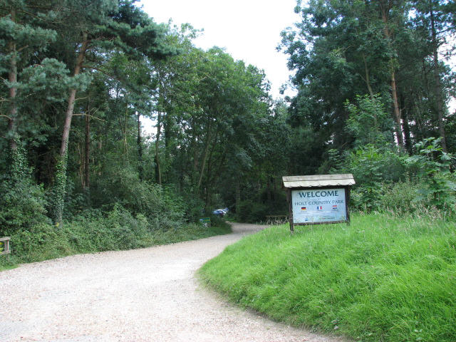 Entrance to Holt Country Park - geograph.org.uk - 512497