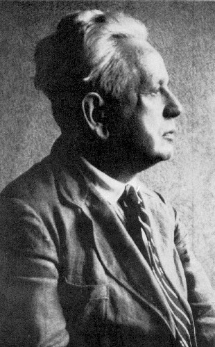 "Working in the context of the rise of fascism during the early 20th century, Ernst Cassirer stalwartly defended Enlightenment idealism, stating that progress tended to ""self-liberation"". Ernst Cassirer.jpg"