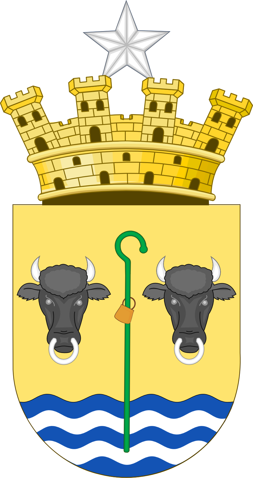 Coat of arms of Puerto Baquerizo Moreno