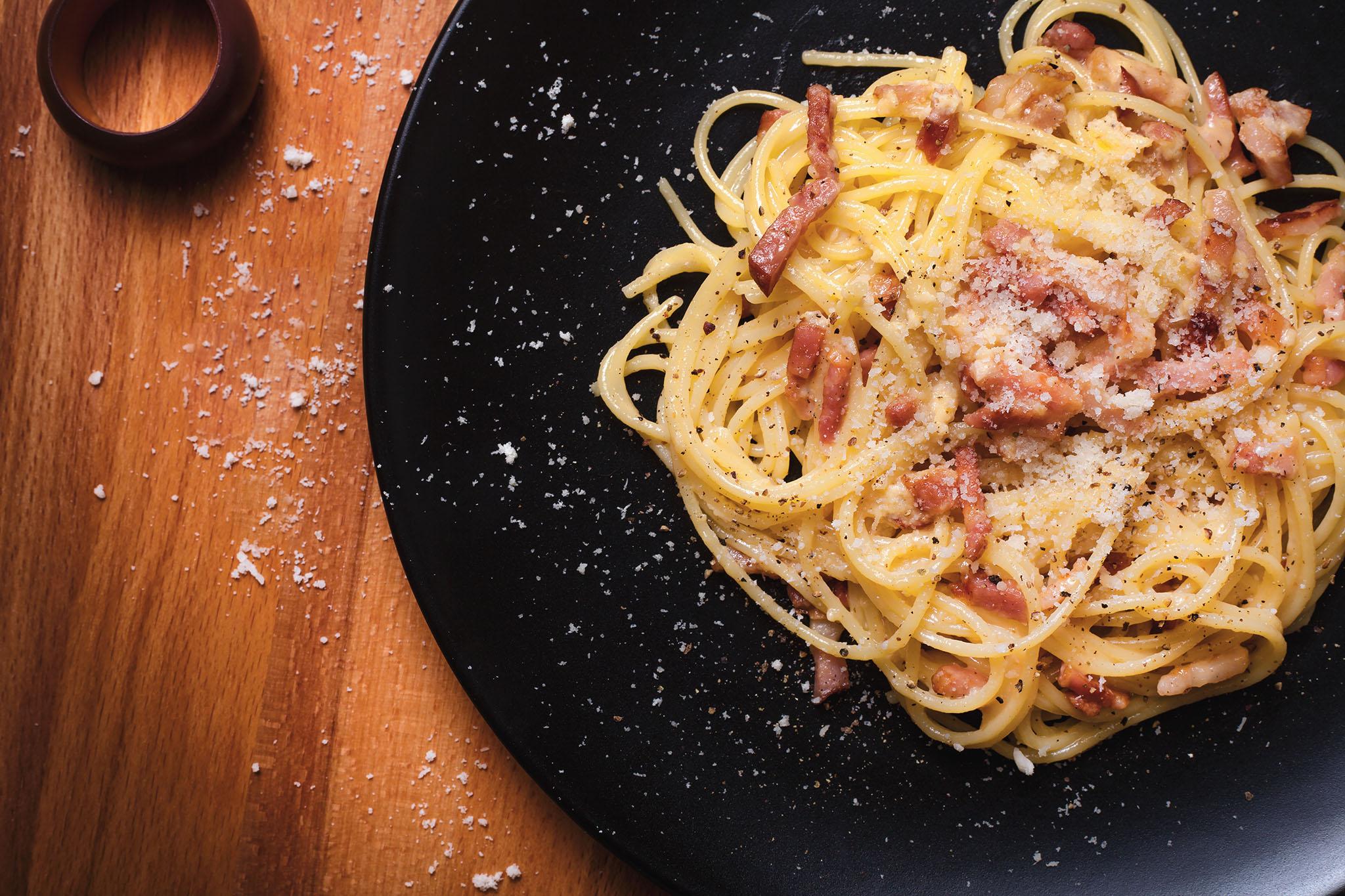La Storia Della Cucina carbonara - wikipedia