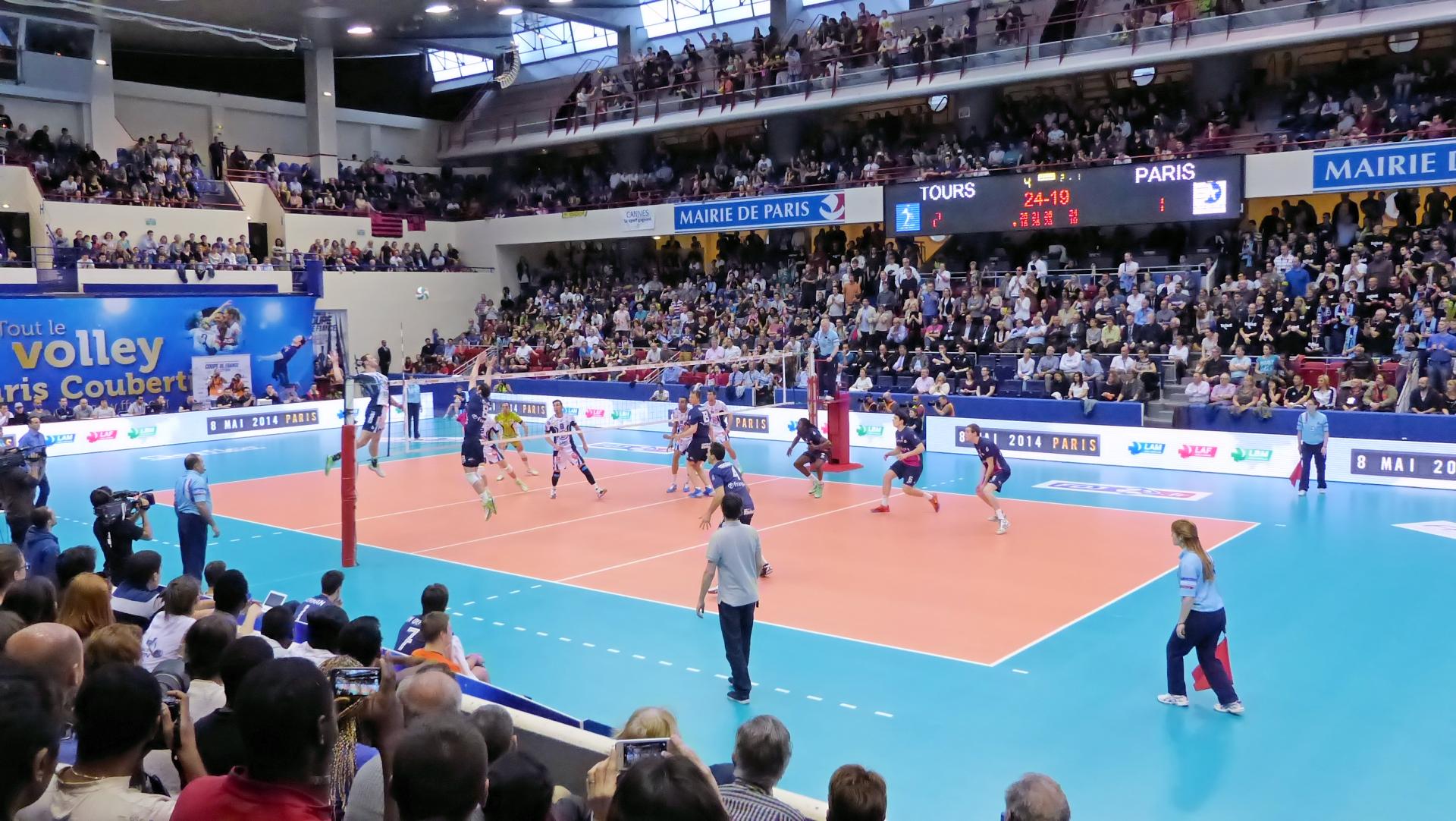 File finale coupe de france de volley ball 2013 2014 balle de wikimedia commons - Coupe de france de volley ...