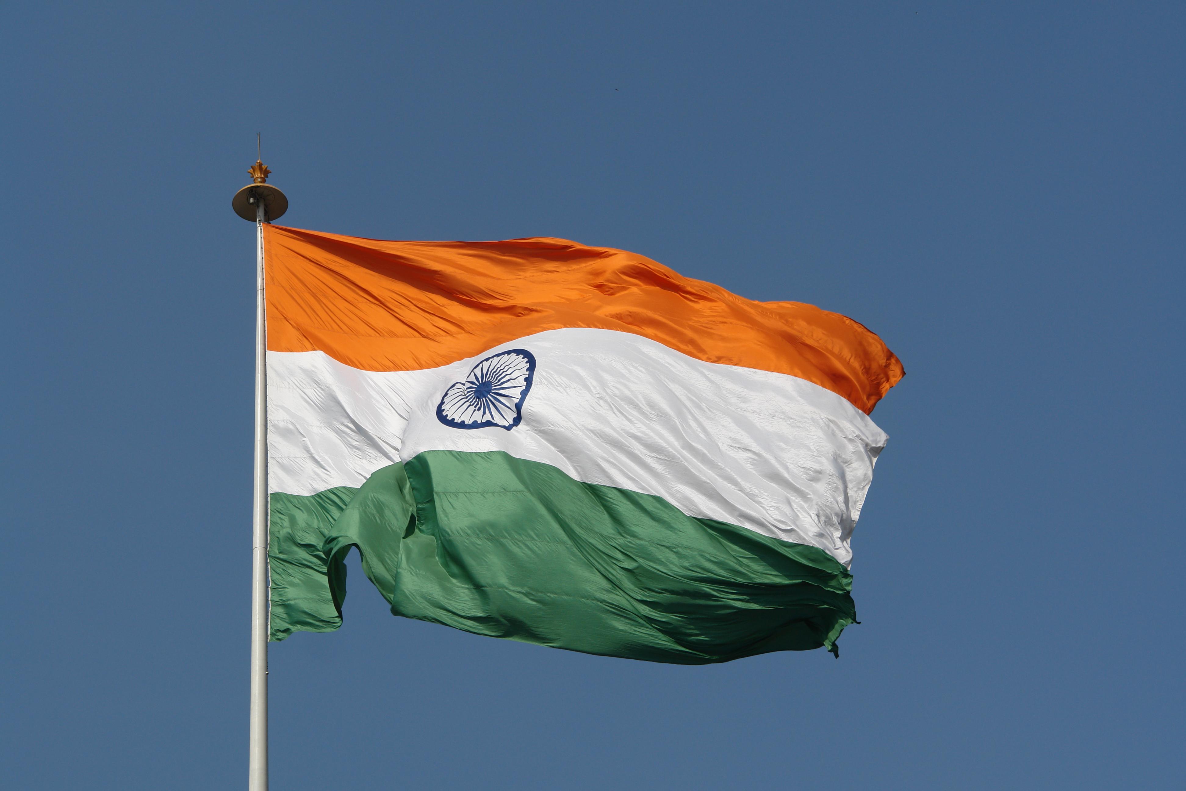 landesflagge indien