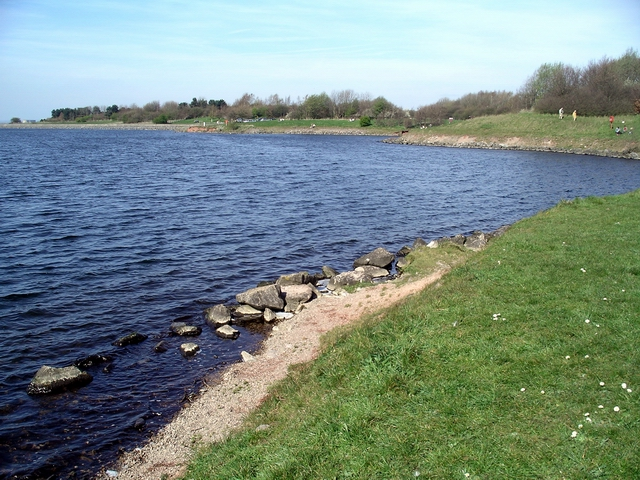 Foremark reservoir - geograph.org.uk - 393759