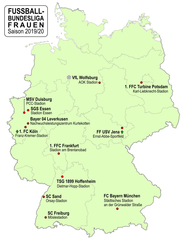File Fussball Bundesliga Frauen Deutschland 2019 2020 Png