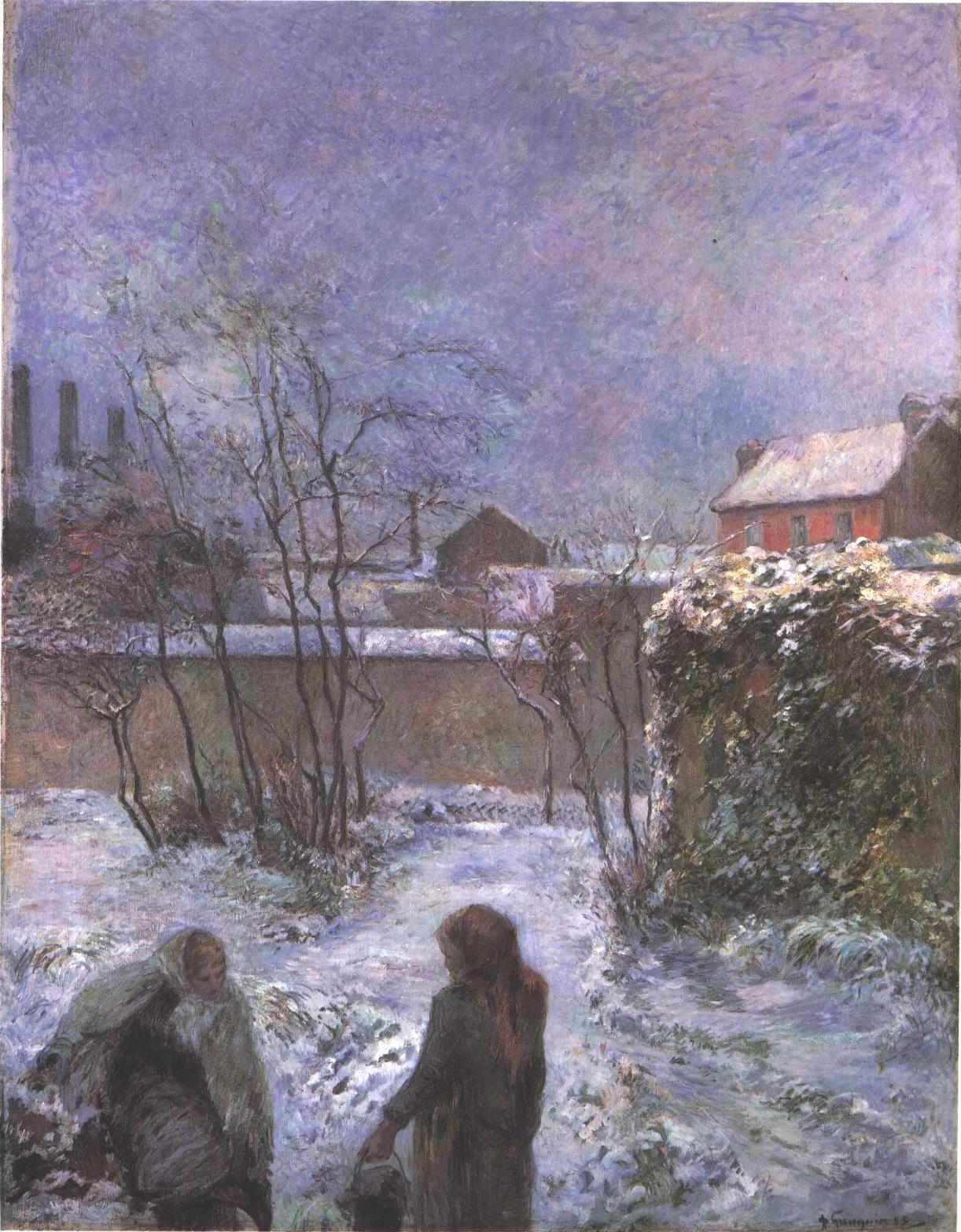 File gauguin le jardin en wikimedia commons for Jardin en hiver