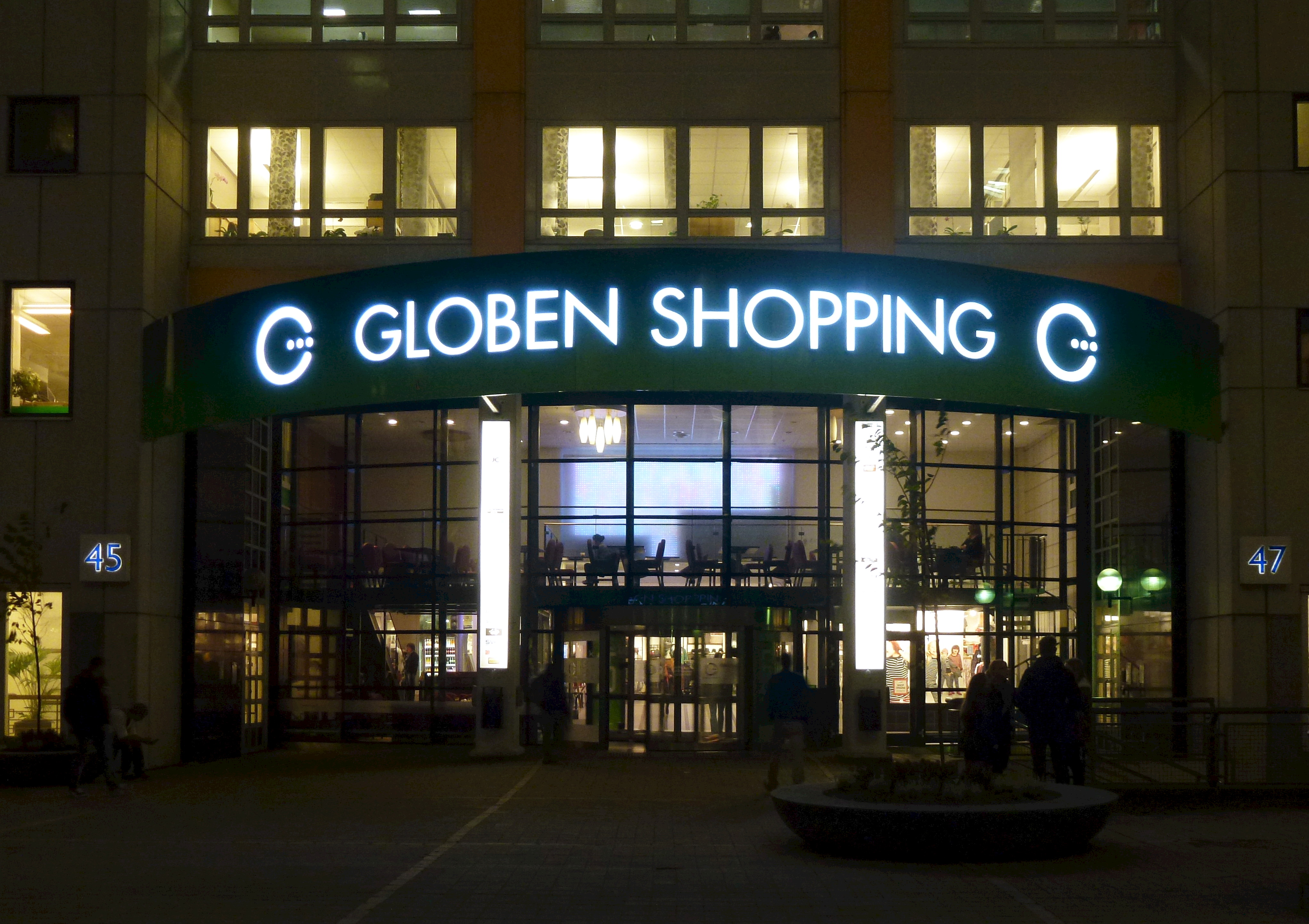 frisör globen shopping