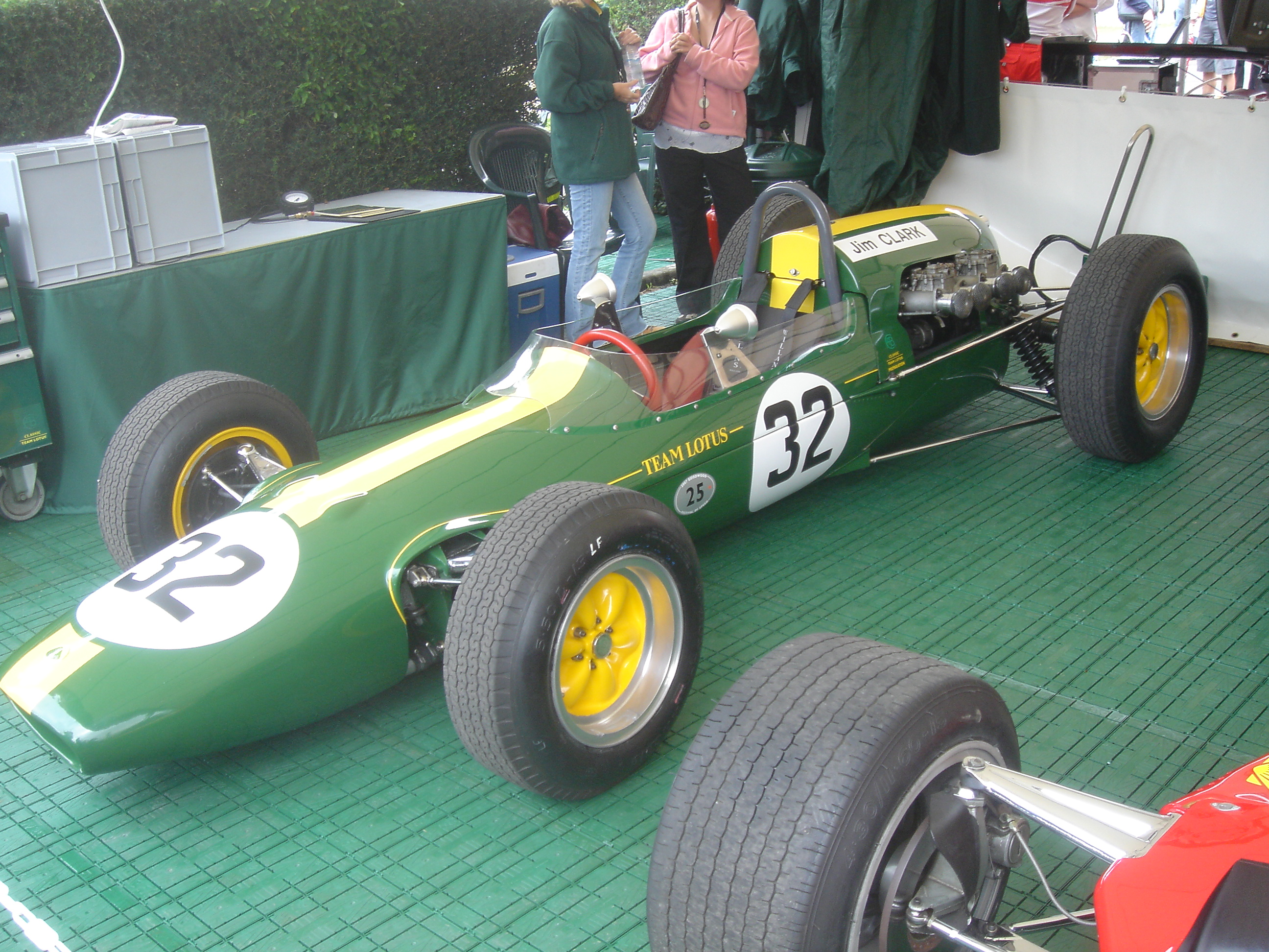 File:Goodwood2007-021 Lotus Climax 25 (1963).jpg - Wikimedia Commons
