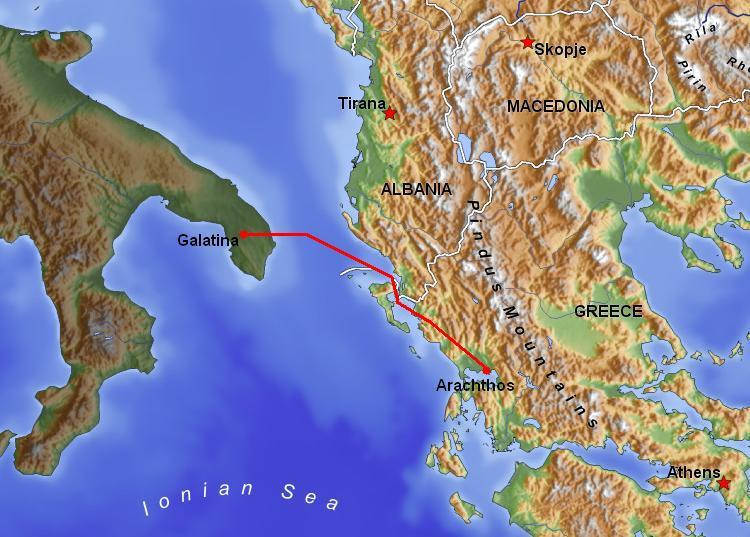 HVDC Italy–Greece - Wikipedia