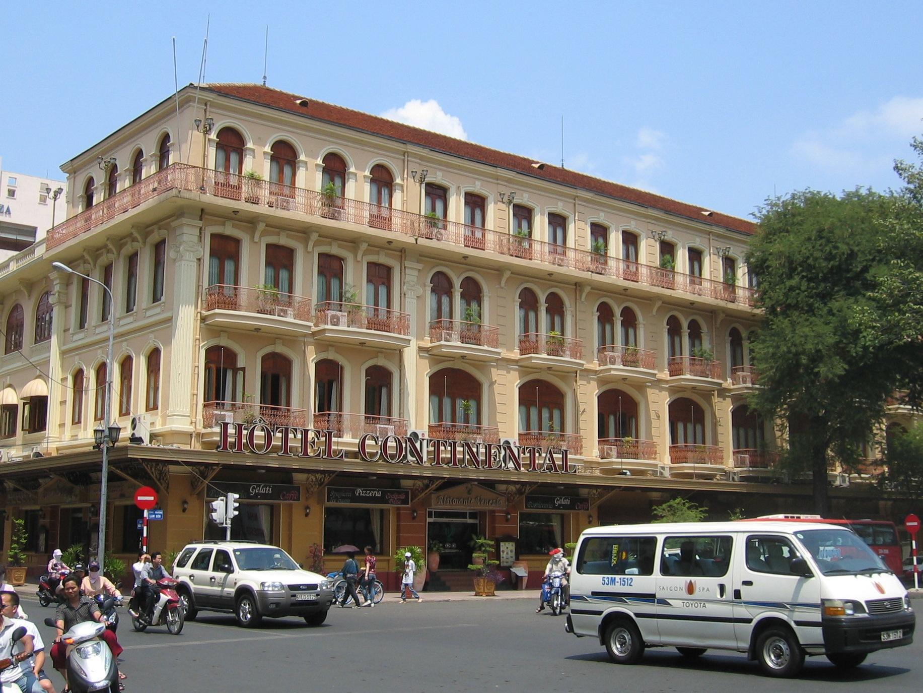 File Hotel Continental Saigon Vietnam Jpg