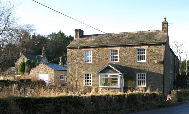 Houses at Thornley Gate - geograph.org.uk - 639080