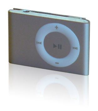 A photo of the iPod shuffle (v2)