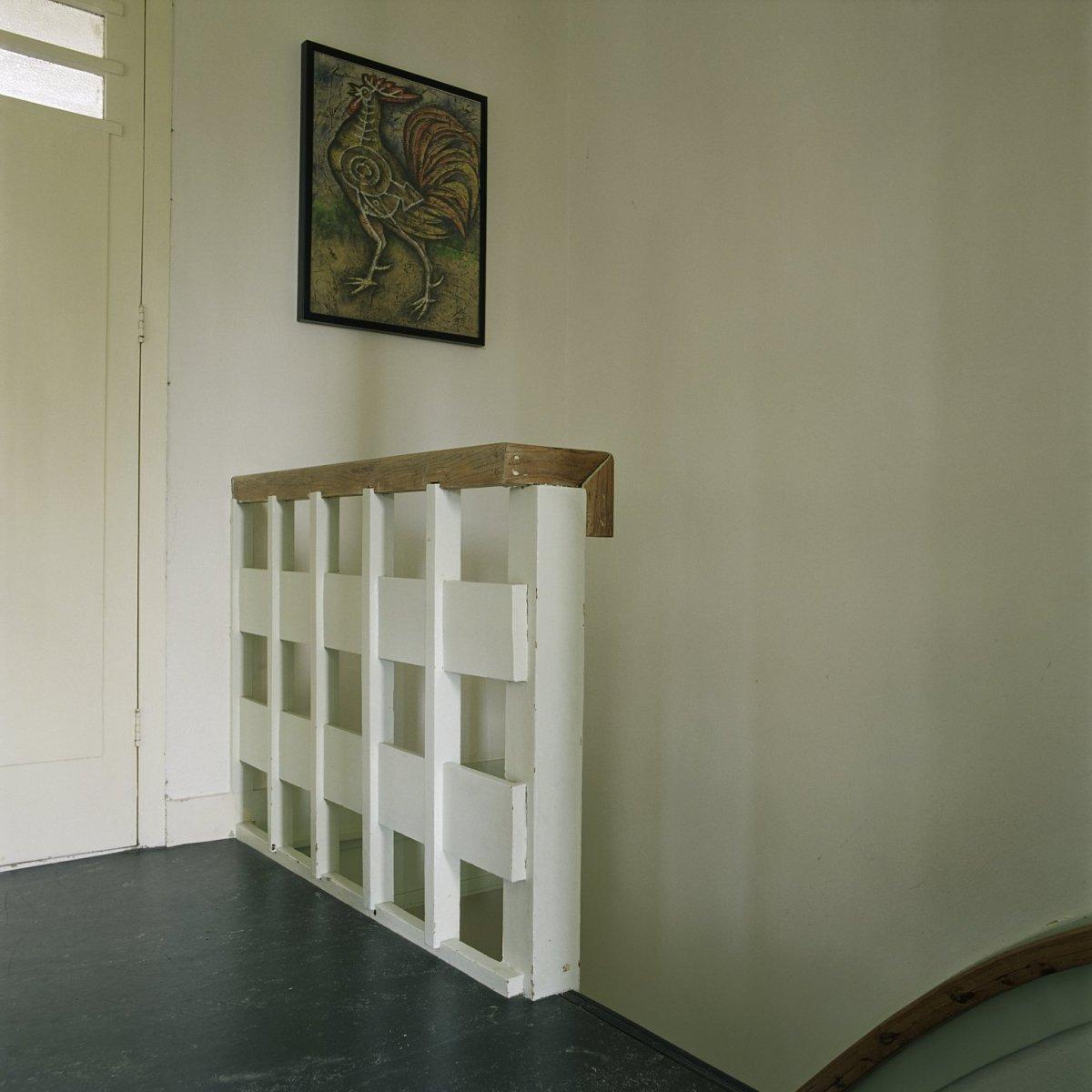 File interieur balustrade van de trap op de tweede for Balustrade trap