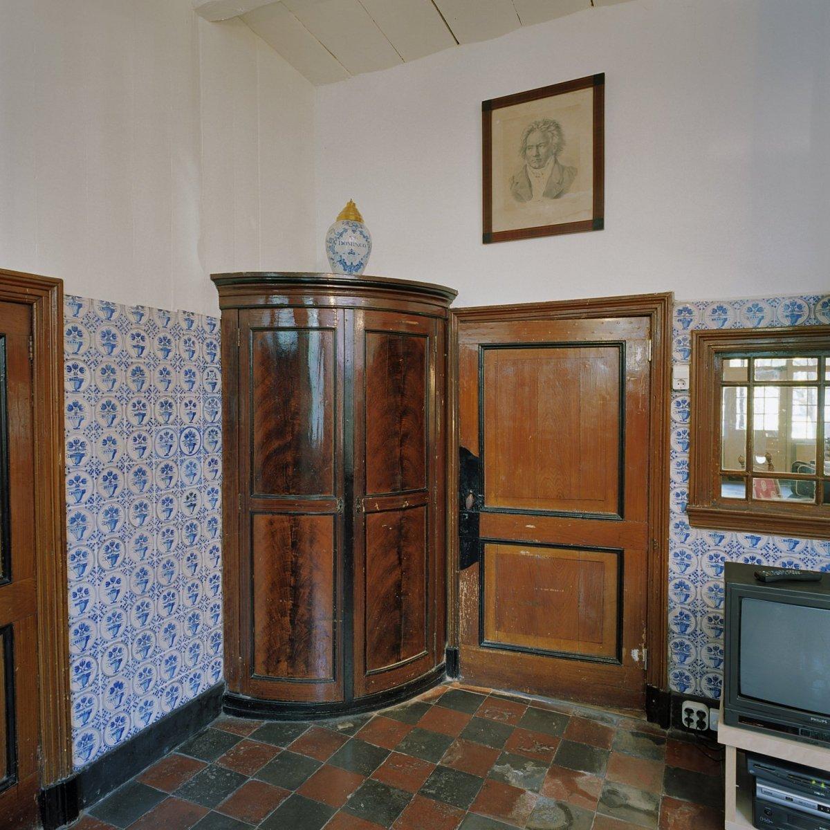 File interieur boerderij gedeelte van voorkamer for Boerderij interieur