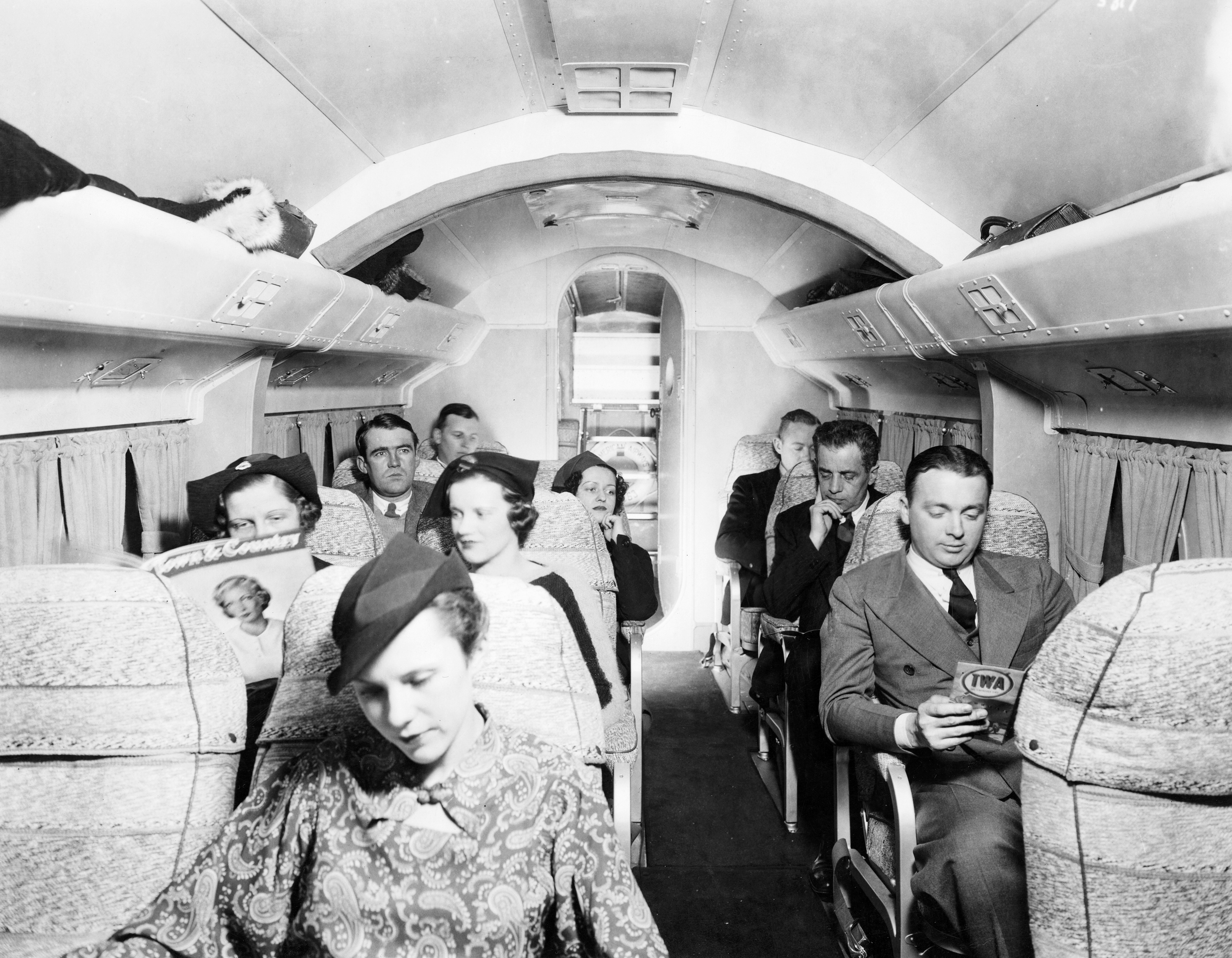 File Interior View Of A Pan Am Sikorsky S 43a Baby