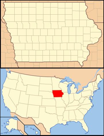 Avoca Iowa Map.Tong An Iowa Locator Map With Us Png Wikipedia