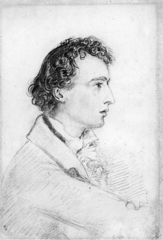 Depiction of Joseph Severn