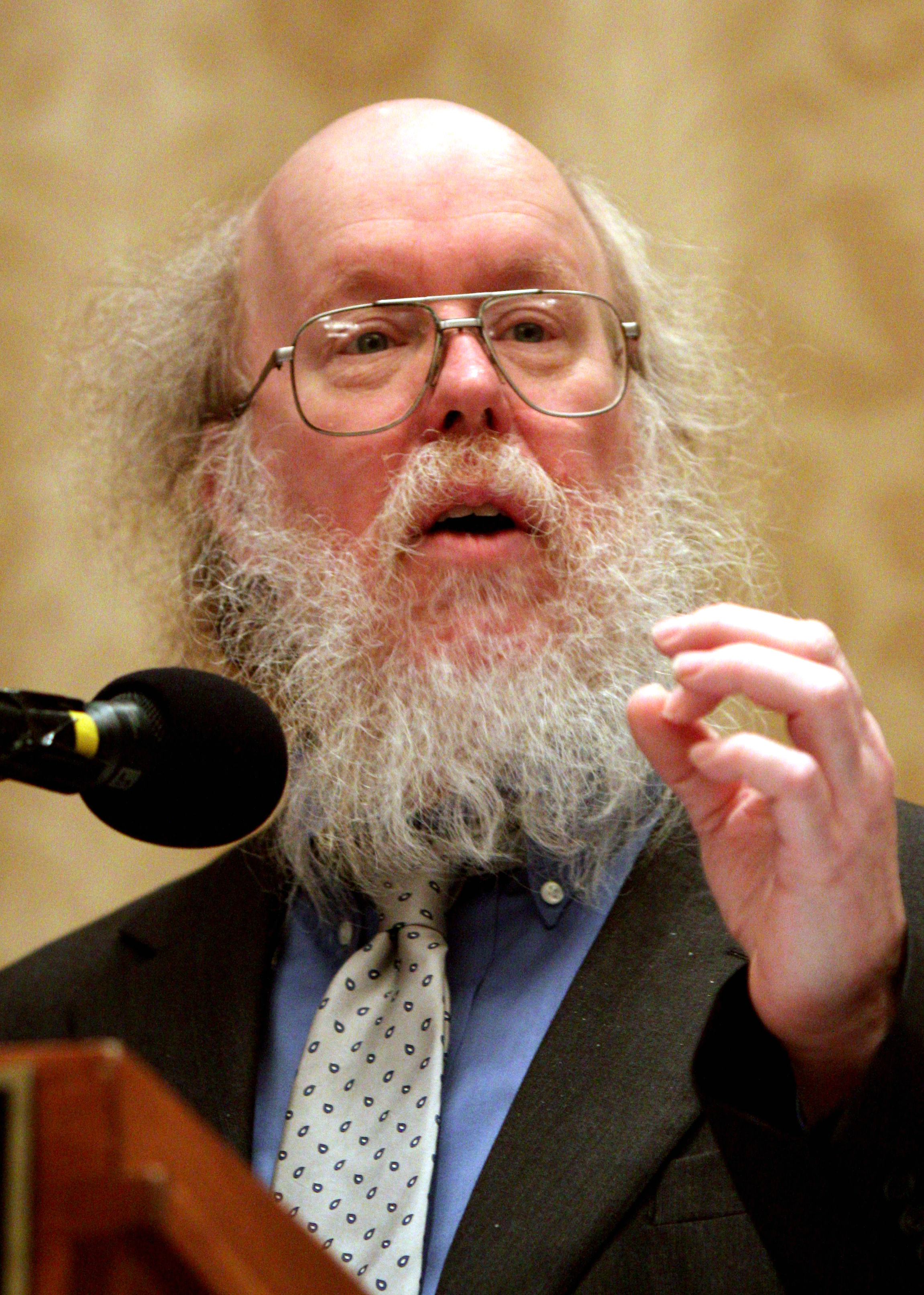 Bovard speaking in Washington, D.C. in 2011