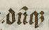 "John Gower archer Vox Clamantis (cropped) - Scribal abbreviation ""duq"" for ""dumque"".jpg"