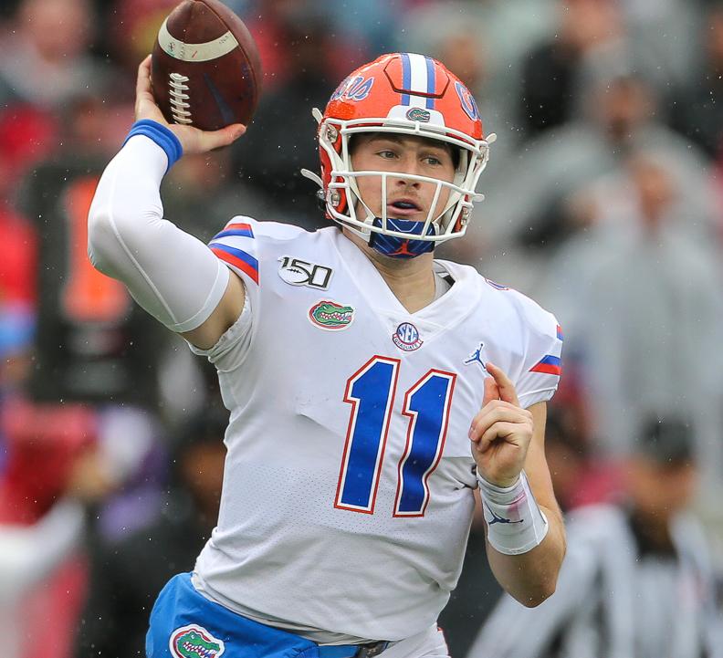 Kyle Trask, quarterback de Florida