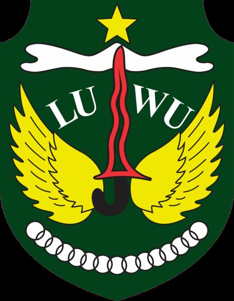 Berkas:Lambang Kabupaten Luwu.png