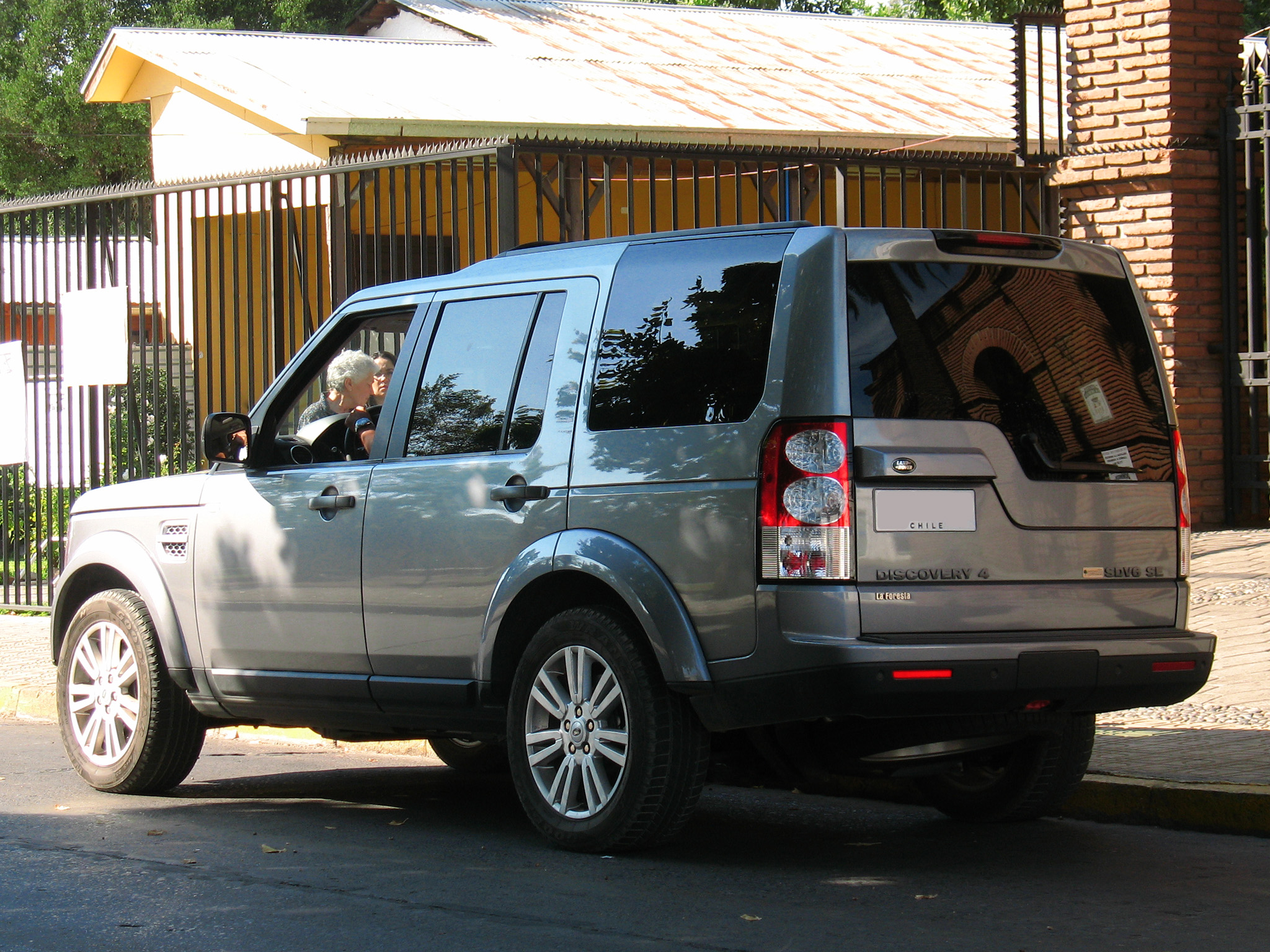 The Gallery For Gt Land Rover Discovery 2013