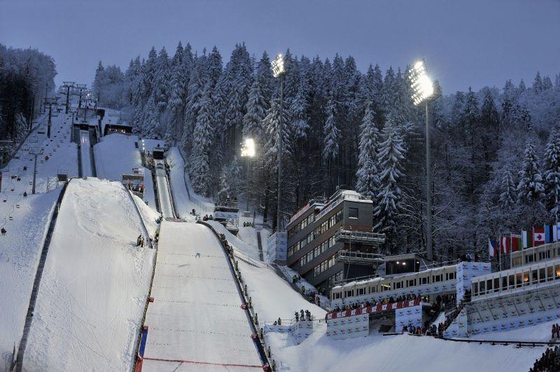 Ještěd ski jumping hills