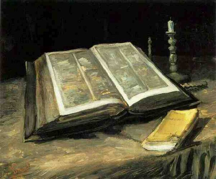 "Books: ""Book with Candlestick"" Vincent van Gogh"