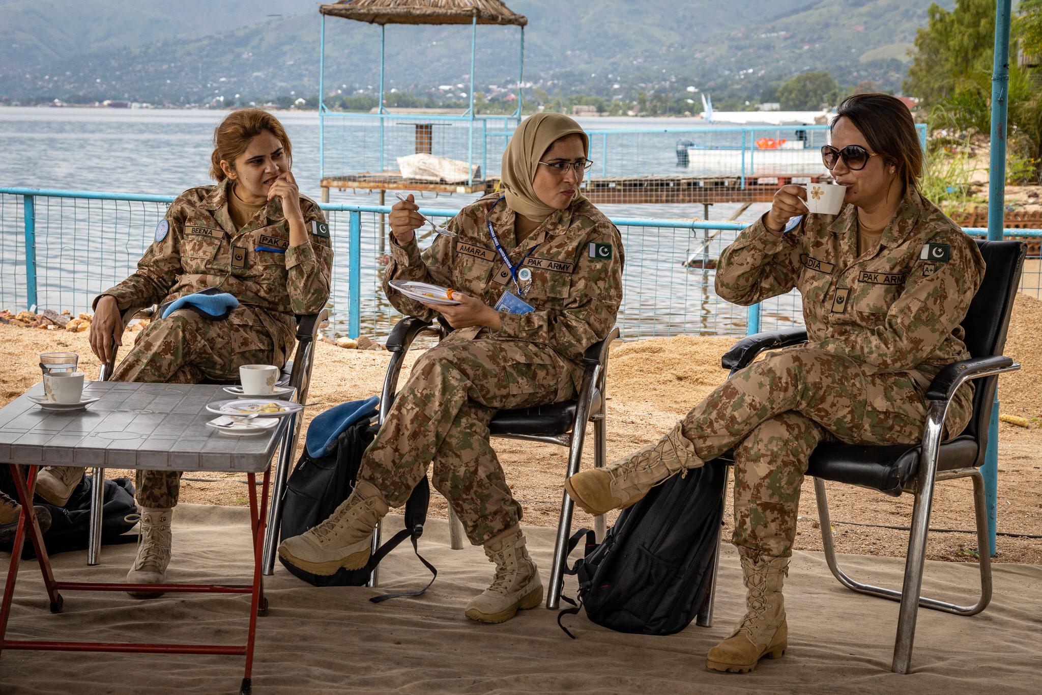 File:MONUSCO's Pakistani Female Engagement Team in Uvira and Sange,  Democratic Republic of the Congo (49595204591).jpg - Wikimedia Commons