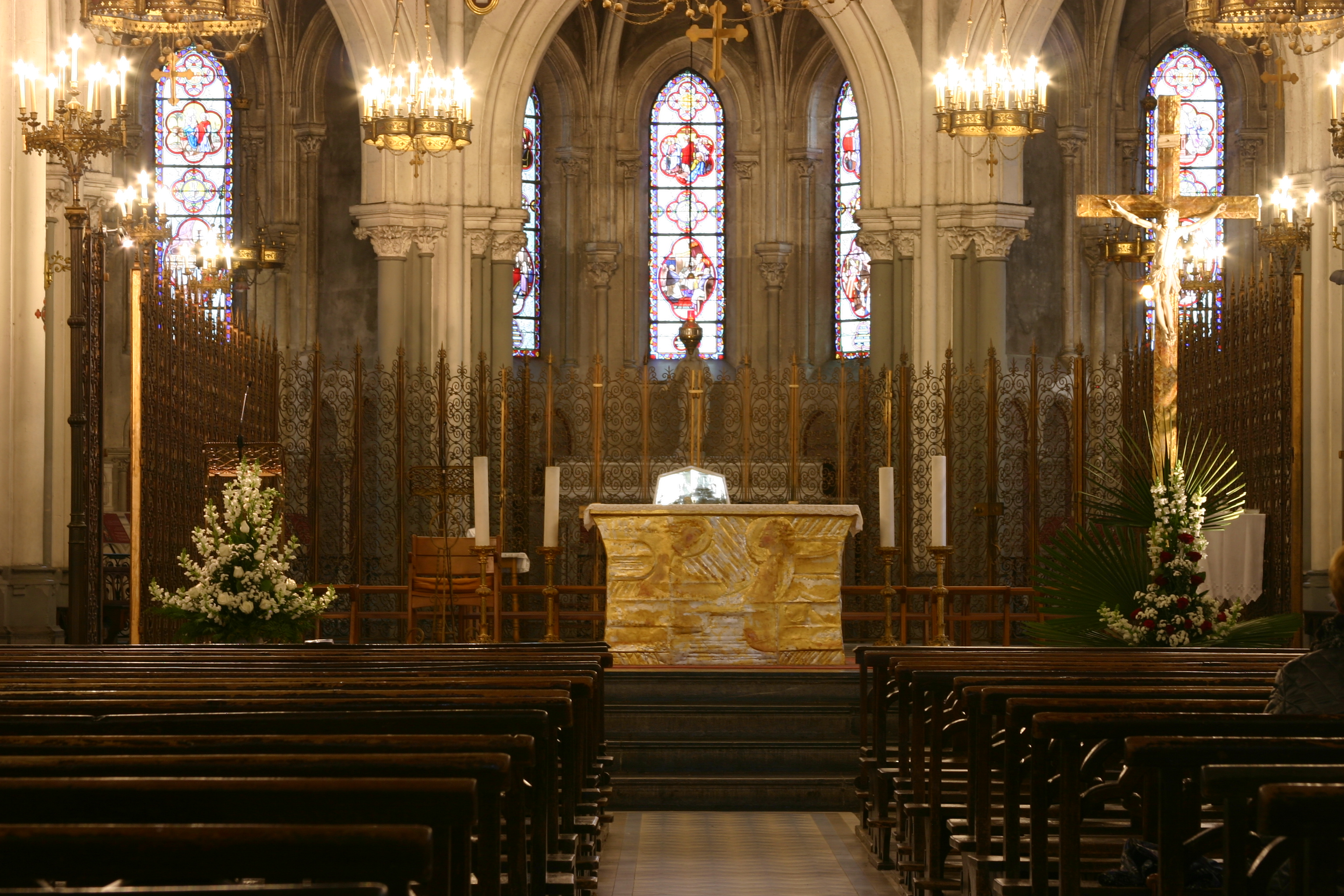 Filemain Altar Basilica Of The Immaculate Conception Lourdes