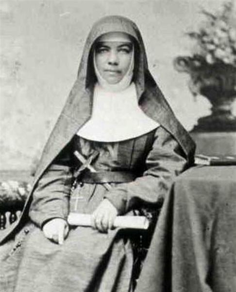 Sister Mary MacKillop (1842-1909), Australian nun, foundress of the congregation of Sisters of St Joseph of the Sacred Heart. Photo credit: Wikipedia