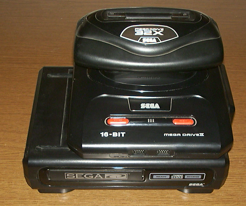 http://upload.wikimedia.org/wikipedia/commons/3/33/Mega_Drive_II_(PAL)_%2B_Sega_CD_II_(US_NTSC)_%2B_32X_(PAL).jpg