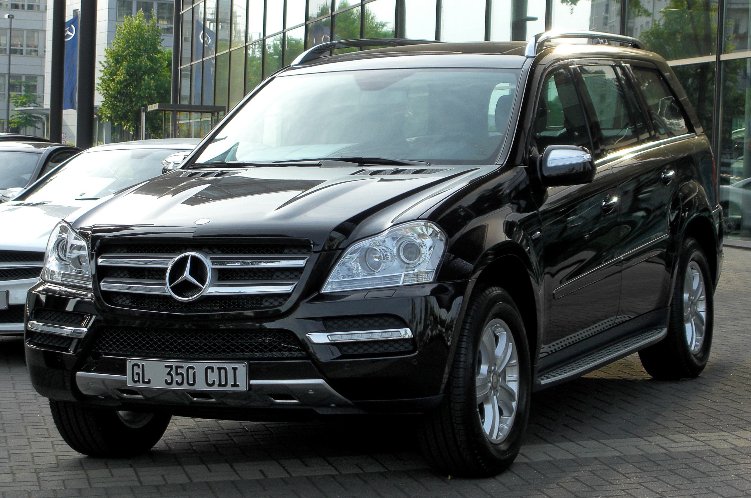 file mercedes gl 350 cdi blueefficiency 4matic x164 facelift front. Black Bedroom Furniture Sets. Home Design Ideas