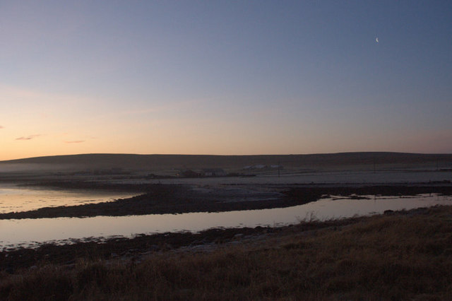 File:Midwinter dawn, Baltasound - geograph.org.uk - 1615106.jpg
