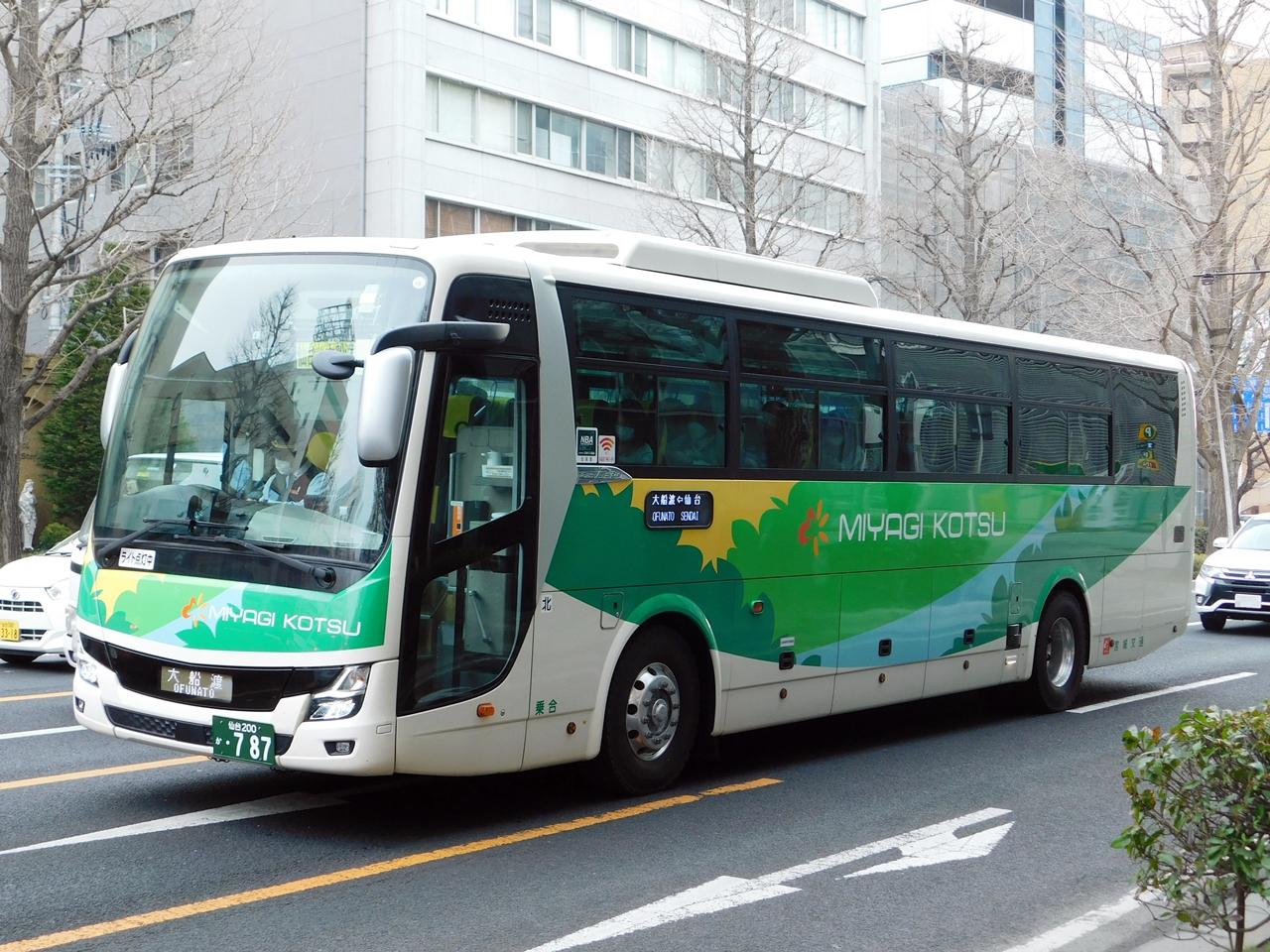 仙台 どこ バス