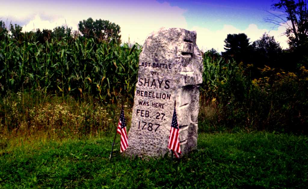 Monument to Shays' Rebellion