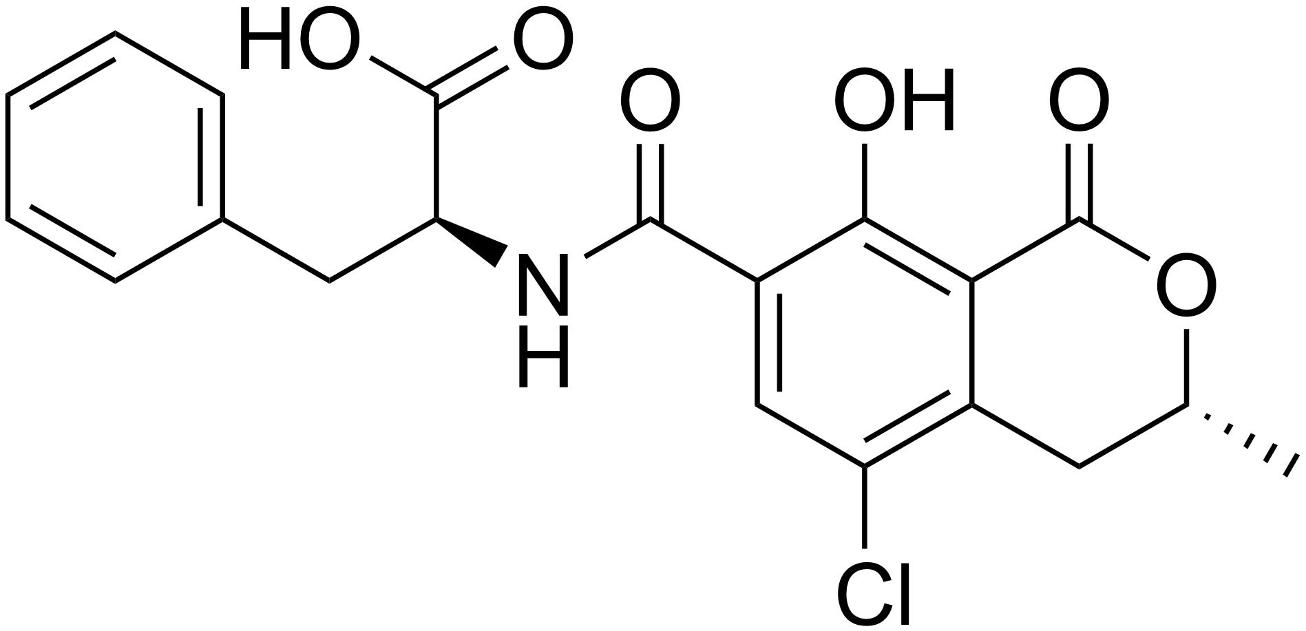 オクラトキシンAの化学式