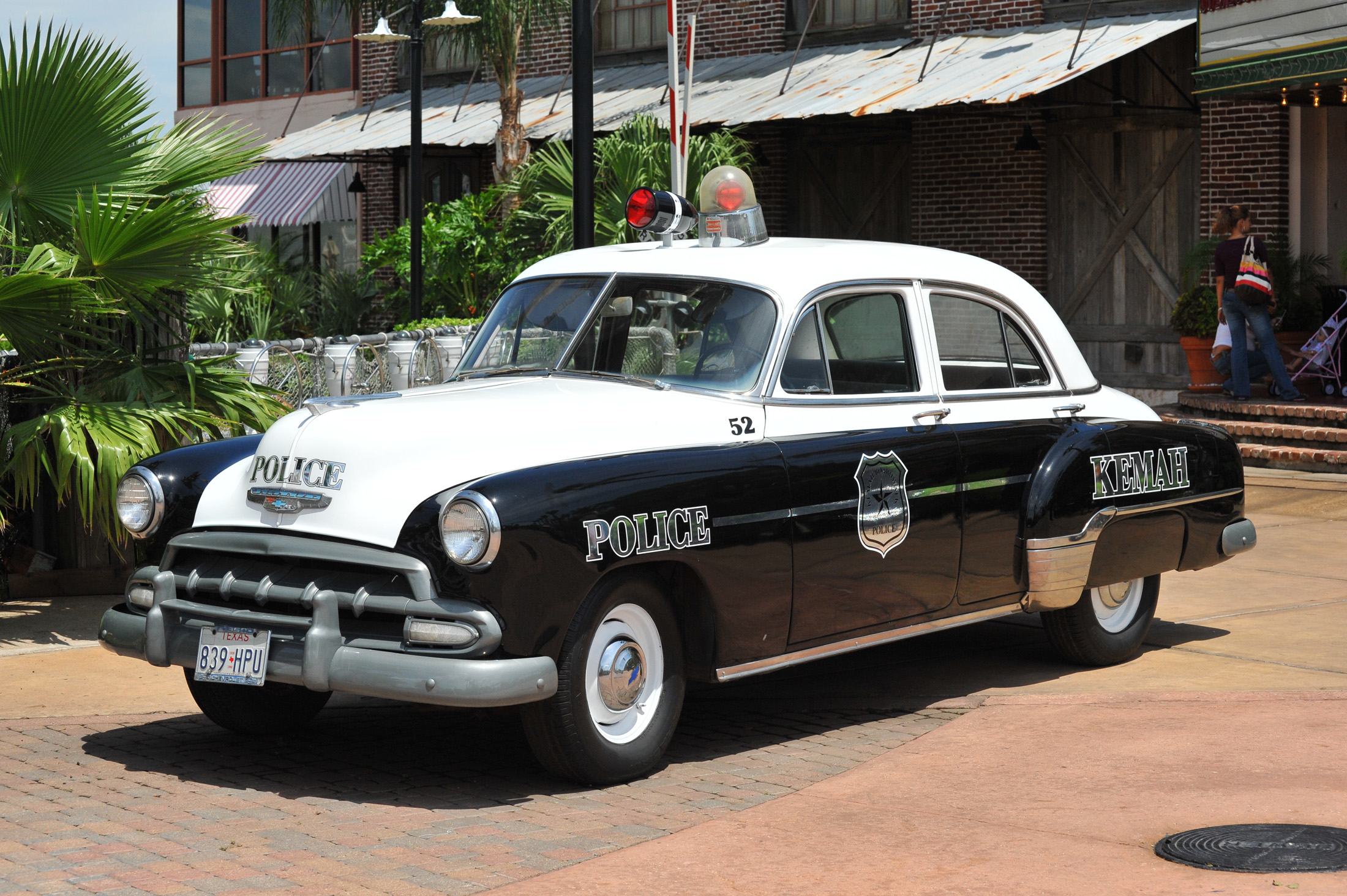Old Antique Cars For Sale >> File:Old police car in Kemah.jpg