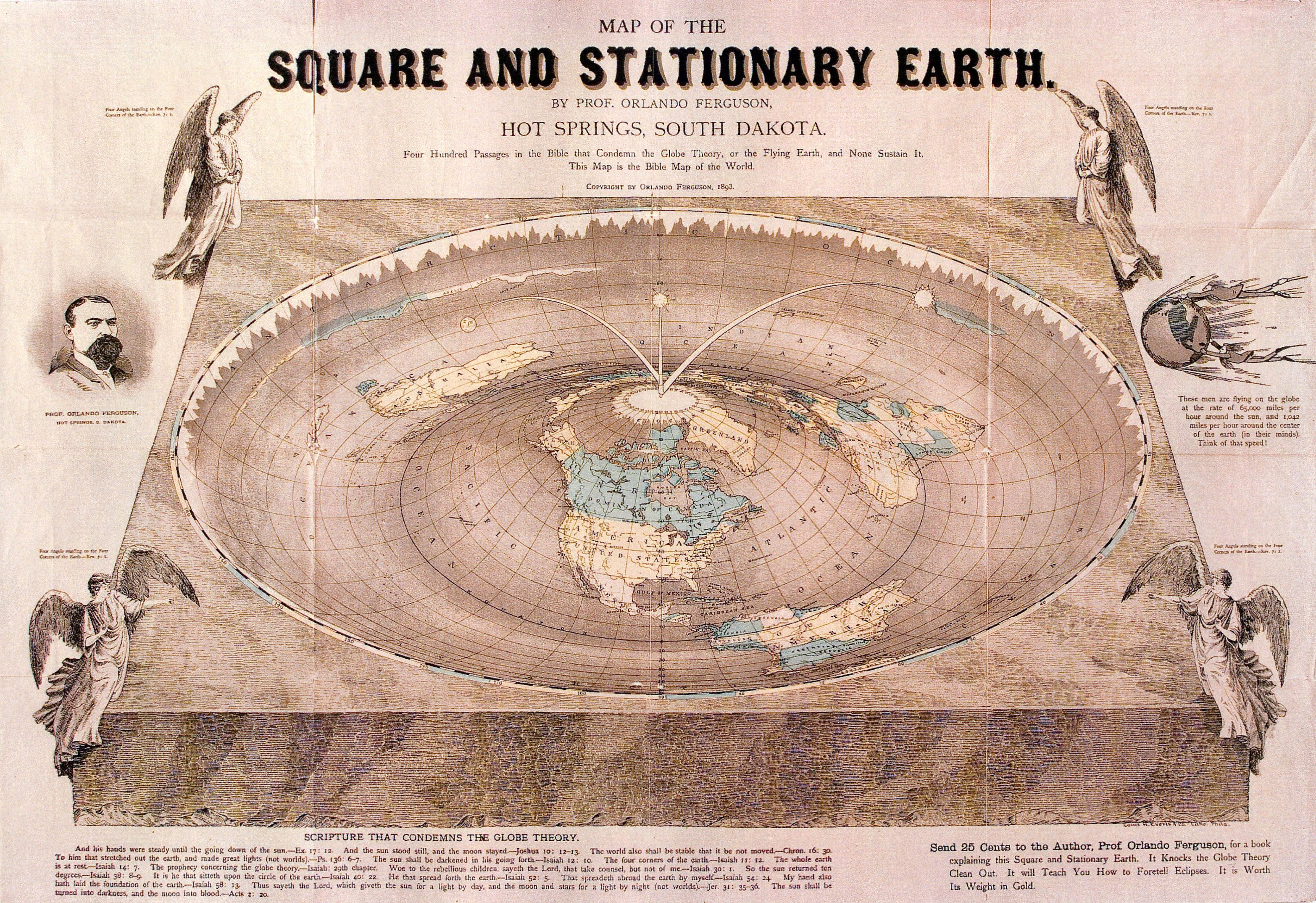 Flat earth map pdf flat earth map pdf gumiabroncs Images