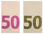 anti-counterfeiting measure on banknotes and other official documents