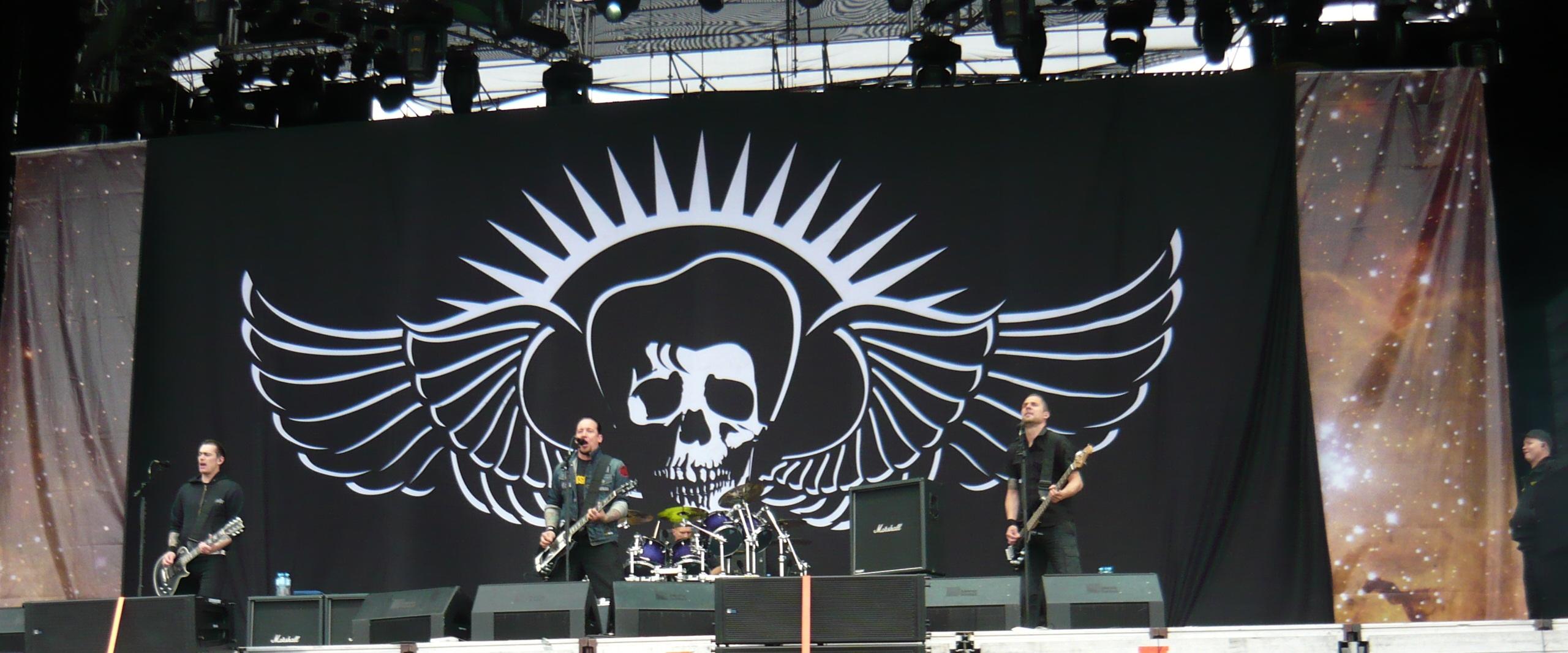 Volbeat på Sonisphere Festival i Polen 2011