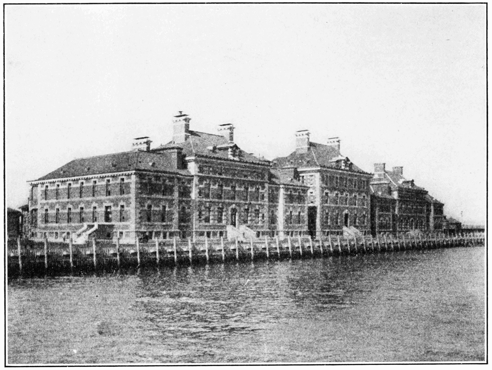 PSM V82 D010 The immigrant hospital at ellis island.png