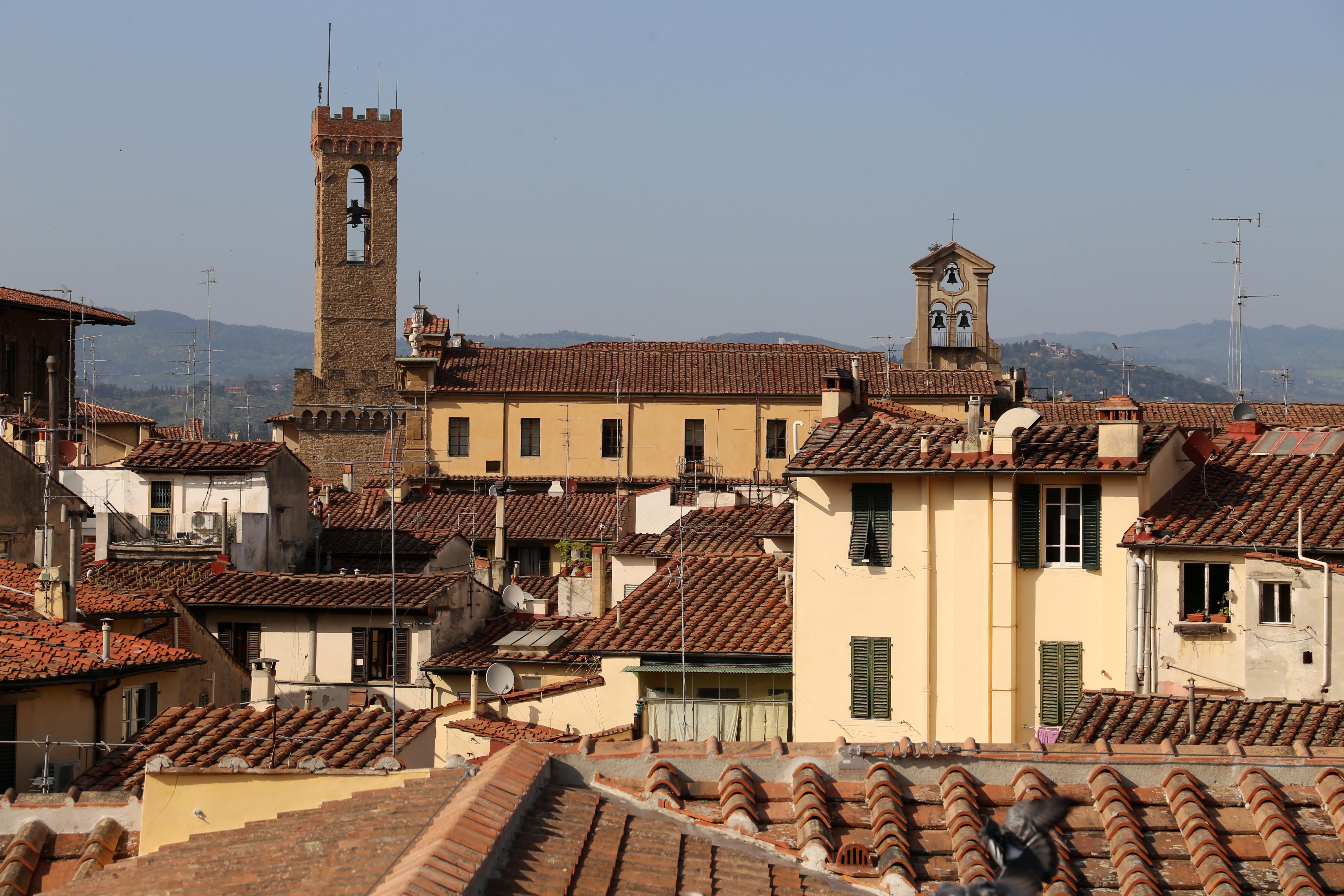 File:Palazzo della camera di commercio a Firenze, terrazza ...